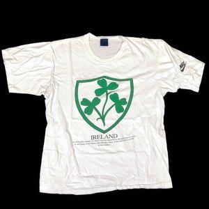 Vintage Nike Ireland Irish Blue Tag 1980s Vintage